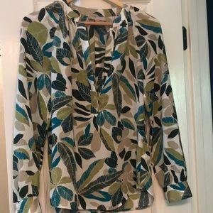 Banana Republic LS blouse